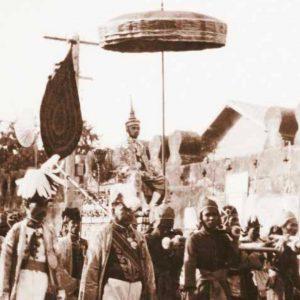 กระบวนพยุหยาตราทางสถลมารค โอกาสเข้าเฝ้าชมพระบารมี ในพระราชพิธีบรมราชาภิเษก 2562
