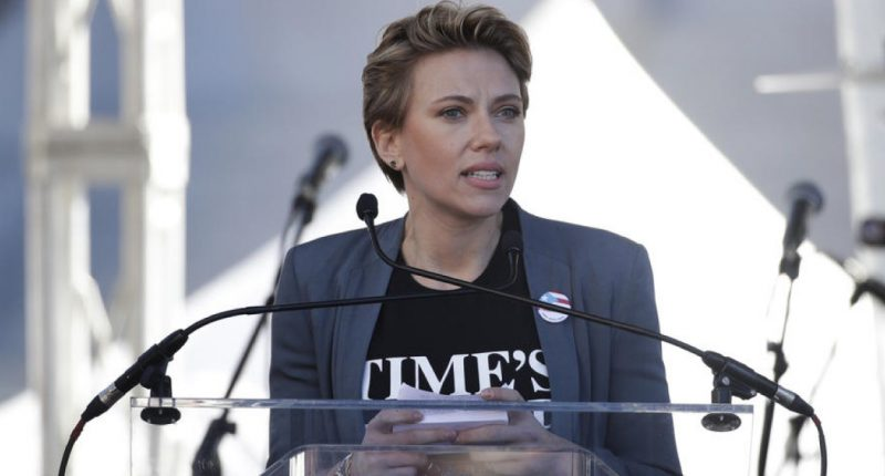 Culture – Movie_Scarlett Johansson ทวงเข็มกลัด Time's Up_COVER