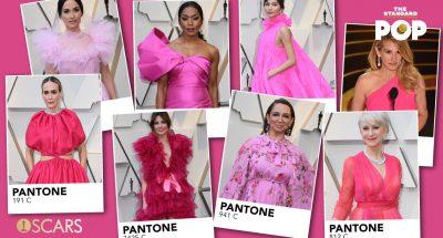 Pink Pantone In Oscars 2019