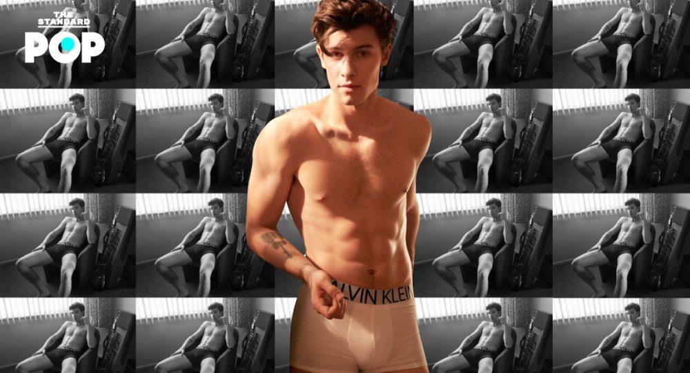 Shawn Mendes' Calvin Klein underwear campaign
