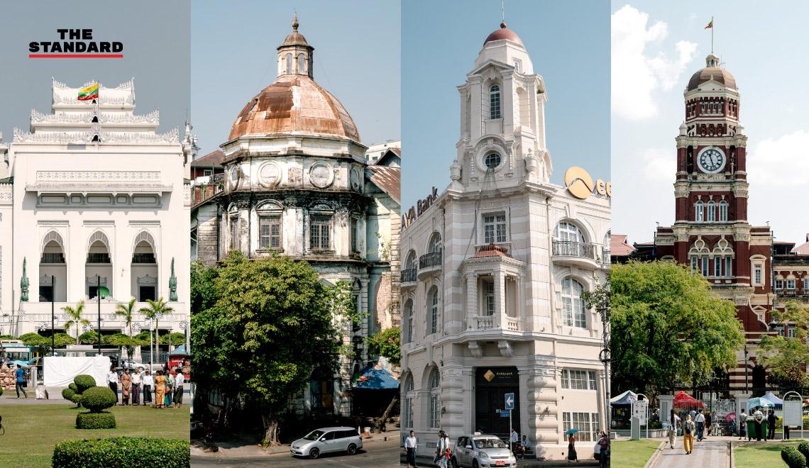 myanmar-yangon-colonial-buildings
