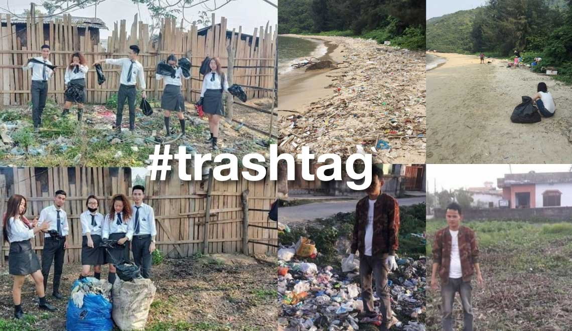 trashtag Tag Your Friends