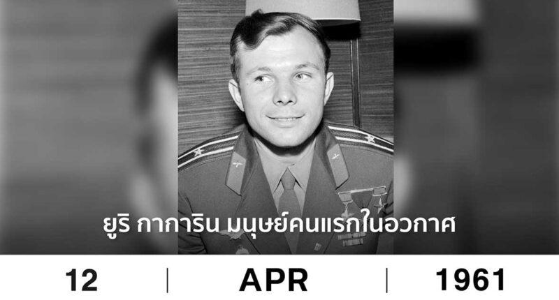 On this day Yuri Gagarin