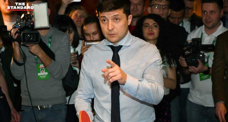 Ukraine election Comedian leads presidential contest