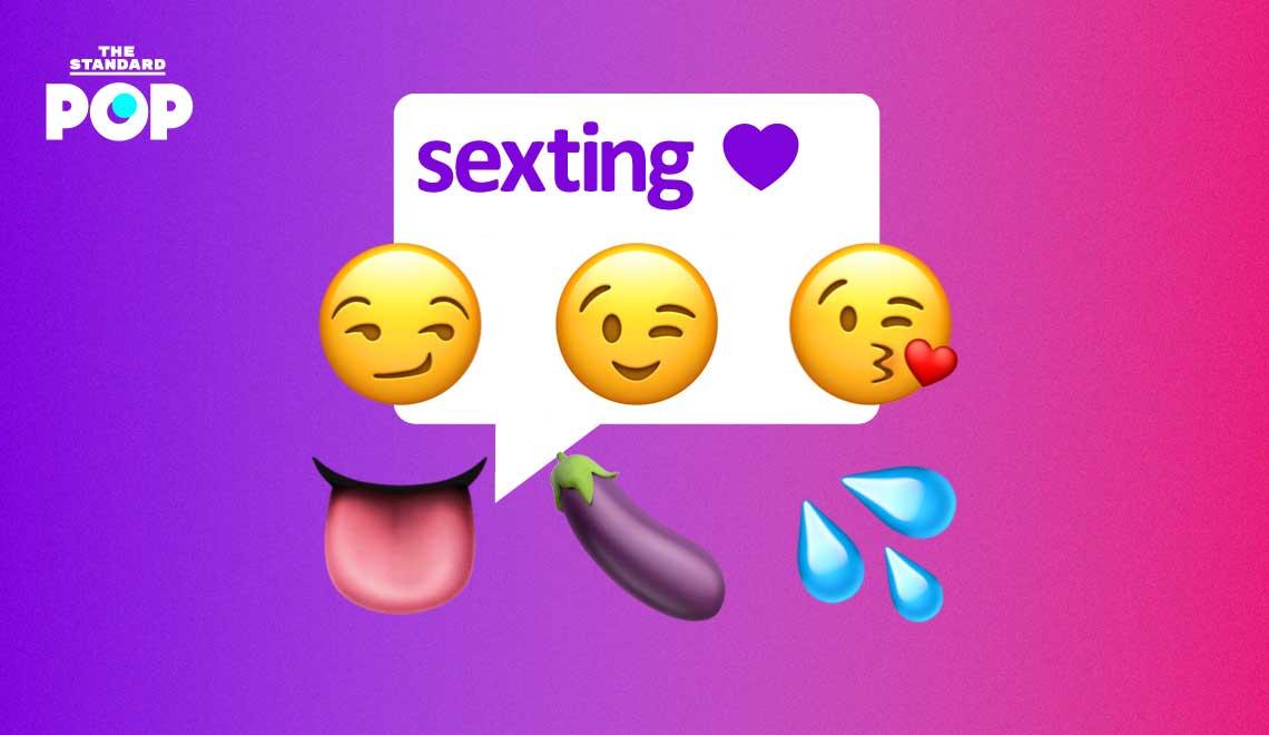 men Sexting