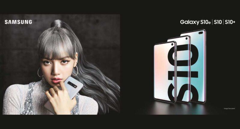 Samsung Galaxy S10 ambassador lisa BLACKPINK