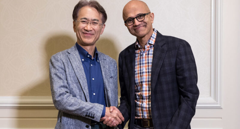 Microsoft Sony AI partnership