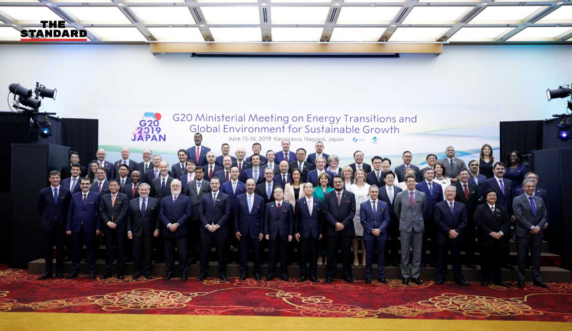 G20 energy environment ministers meet in Japan