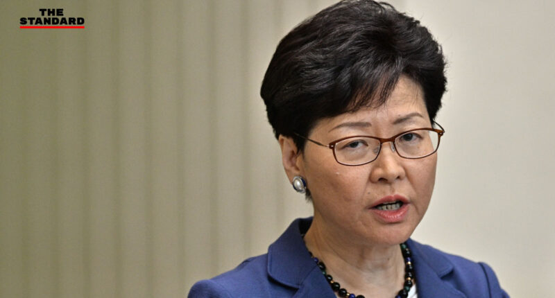 Hong Kong Leader Carrie Lam defiant on extradition plan