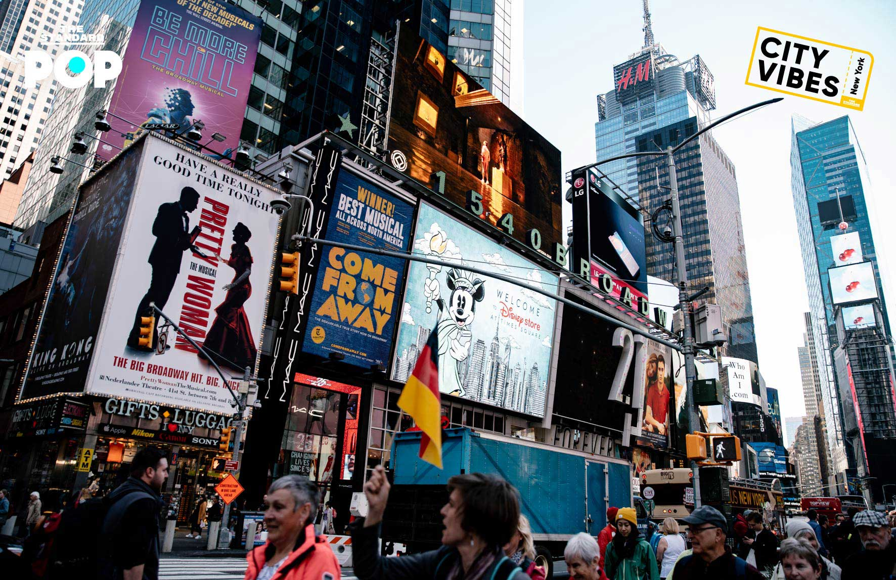 CITY VIBES New York Times Square