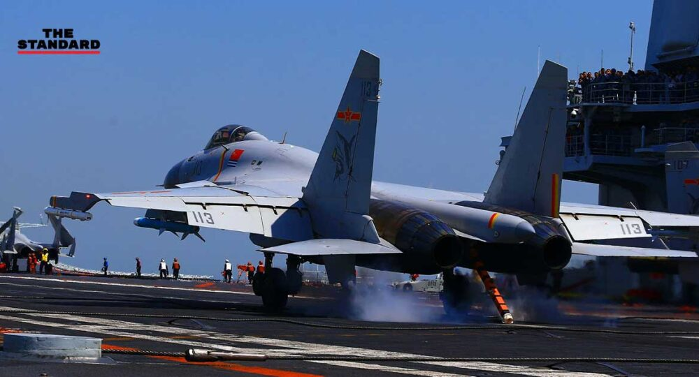 China holds drills in Taiwan Strait
