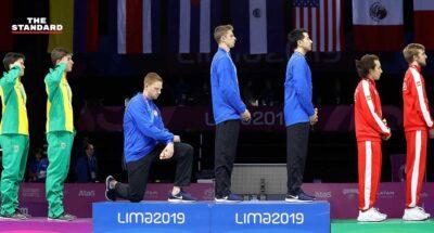 นักกีฬาฟันดาบสหรัฐฯ