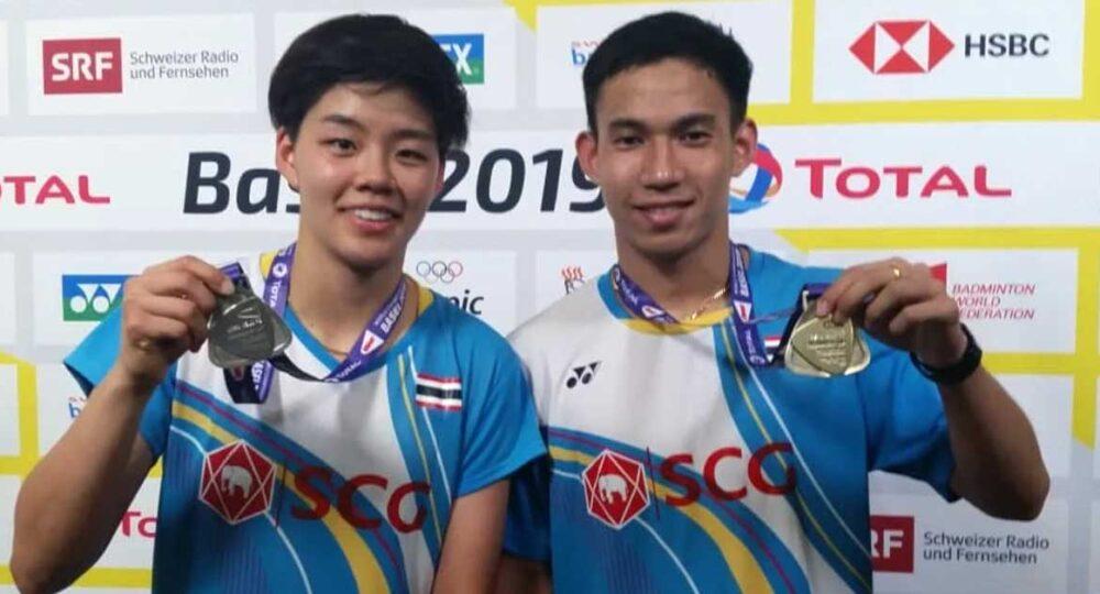 บาส-ปอป้อ แบดมินตันคู่ผสมไทย คว้ารองแชมป์โลก