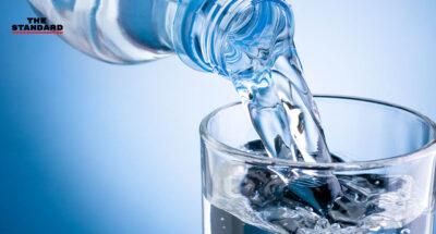 ไมโครพลาสติกในน้ำดื่ม