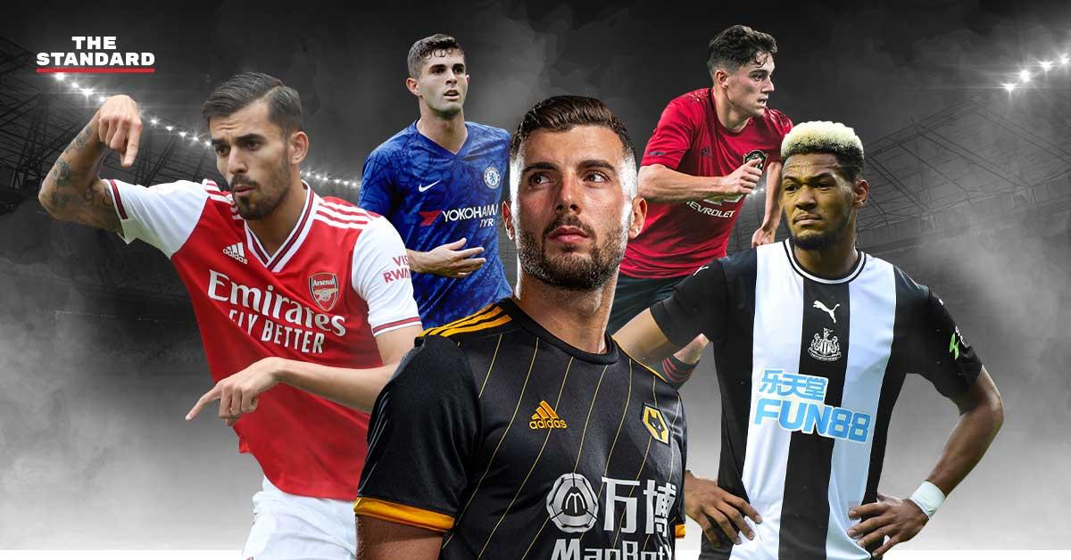 Premier League 2019/20 stars