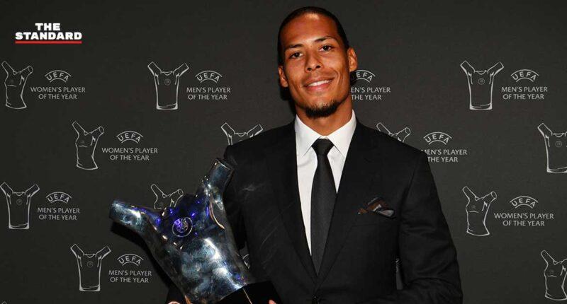 Virgil van Dijk wins UEFA Men's Player of the Year award