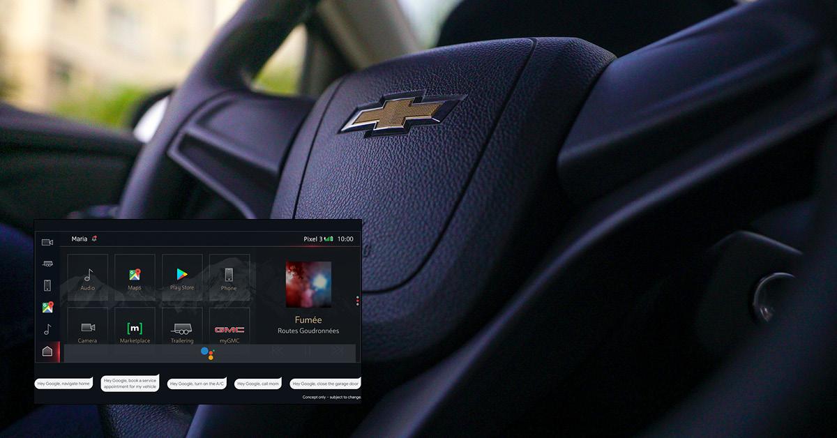 GM เตรียมติดตั้งผู้ช่วยอัจฉริยะและแอปฯ ของ Google ในรถ เริ่ม