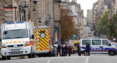 สำนักงานตำรวจปารีส ตาย 4 ราย