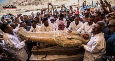 Egypt ancient coffins found in Luxor