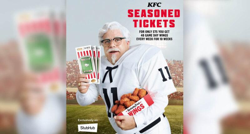 KFC Wing Subscription NFL season