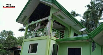 Philippines Strong quake