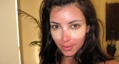 kim Kardashian วันครีมกันแดด