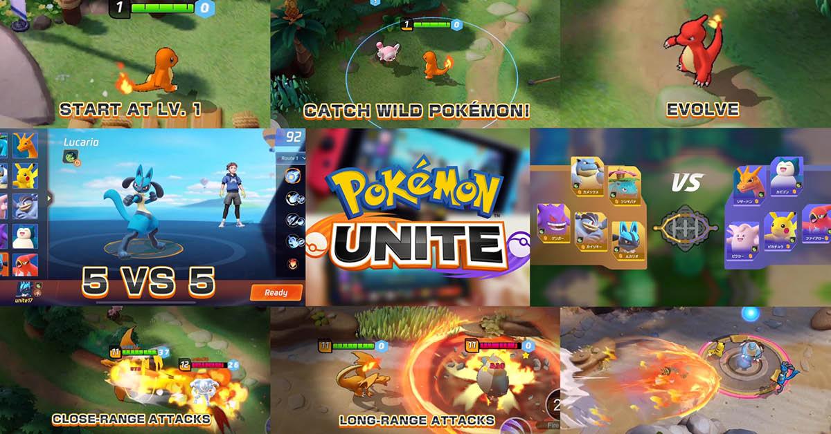 ฉันเลือกนาย! Pokemon Unite เกมโปเกมอนแนว MOBA เตรียมเปิดให้เหล่า ...