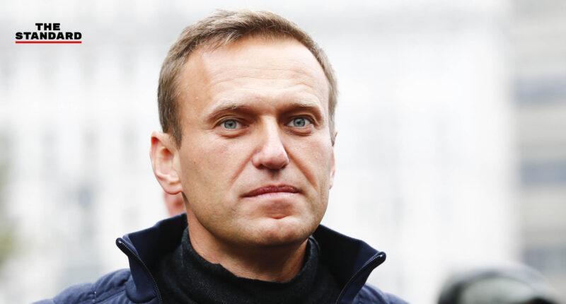 อเล็กเซ นาวาลนี แกนนำฝ่ายค้านรัสเซีย คู่ปรับทางการเมืองของประธานาธิบดีวลาดิเมียร์ ปูติน