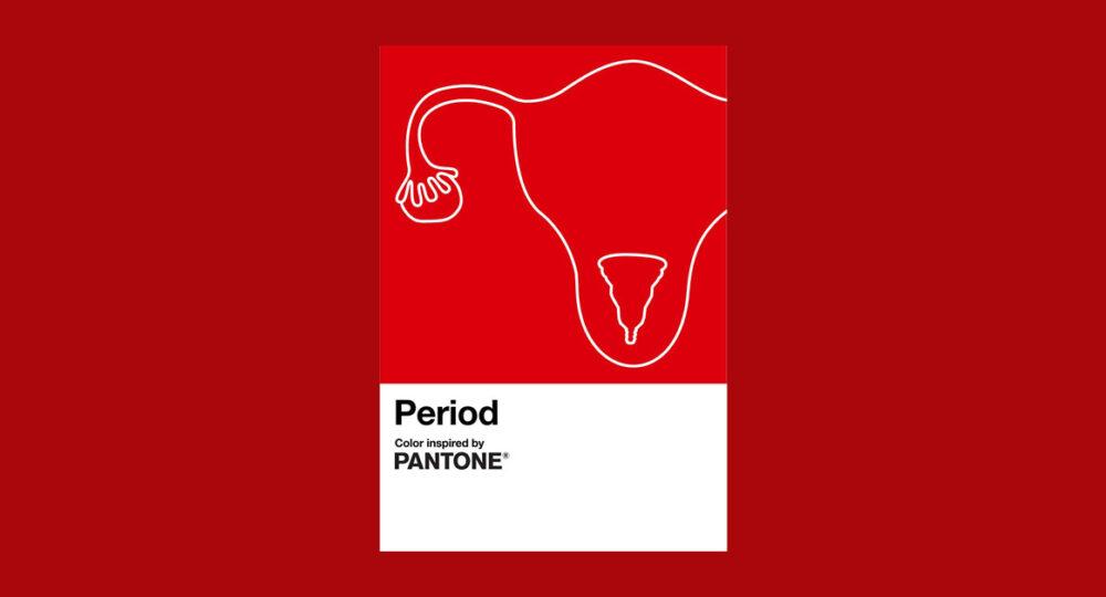 Pantone Period ประจำเดือน