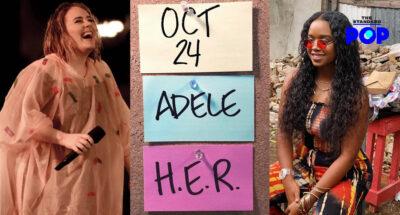 Adele surpise Instagram Saturday Night Live 24 oct H.E.R.