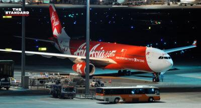 AirAsia สายการบิน เครื่องบิน แอร์เอเชีย สนามบิน