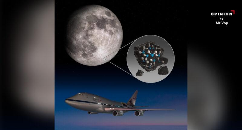 น้ำบนดวงจันทร์ การค้นพบครั้งใหม่ของกล้องโทรทรรศน์ลอยฟ้าโซเฟีย หมุดหมายใหม่ในการสำรวจอวกาศ