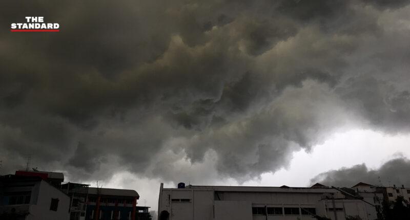 กรมอุตุฯ เตือนประชาชนรับมืออิทธิพลพายุ 'นังกา' 14-16 ต.ค. กทม.-ปริมณฑล เสี่ยงฝนร้อยละ 60 ของพื้นที่