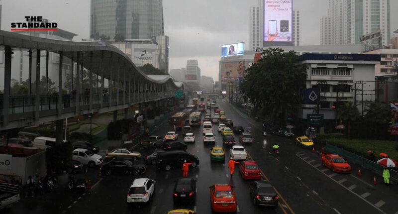 ไทยมีฝนตกหนักตลอดวัน กทม.-ปริมณฑลเสี่ยงร้อยละ 80 จับตาพายุ 'หลิ่นฟา' เริ่มเคลื่อนเข้าเวียดนาม