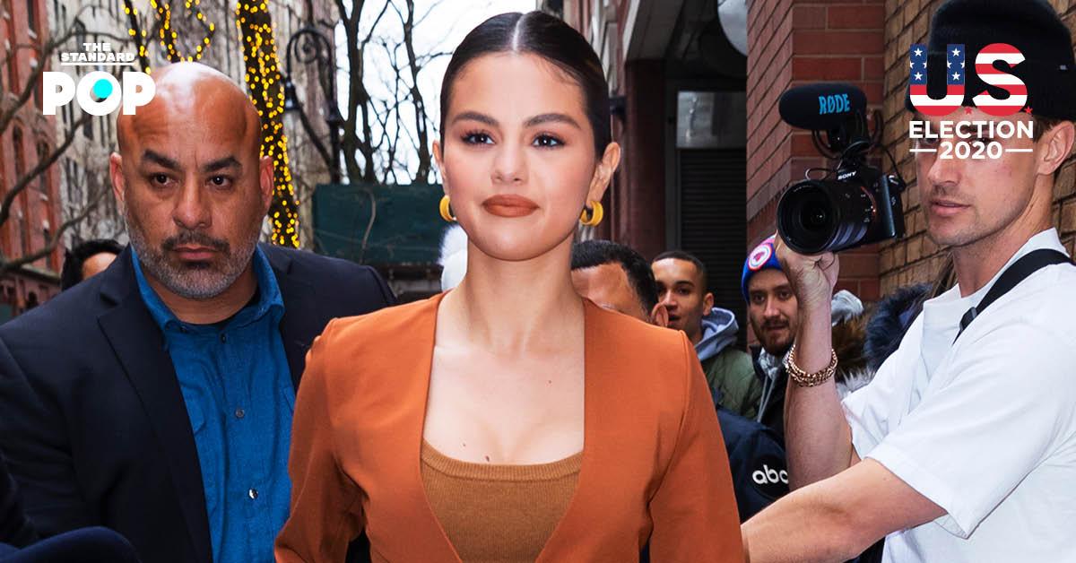Selena Gomez ส่งข้อความส่วนตัวหาซีอีโอ Google เพื่อขอให้ลบโฆษณาที่บิดเบือนข้อมูลการเลือกตั้ง