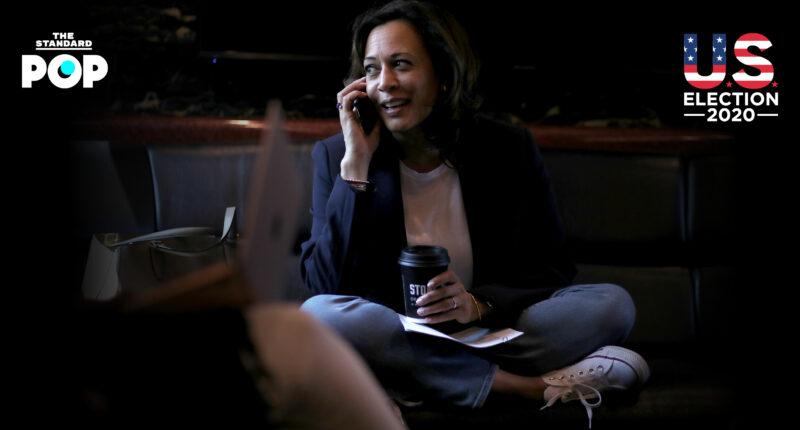 รวมภาพว่าที่รองประธานาธิบดีฯ Kamala Harris กับรองเท้า Converse คู่ใจ