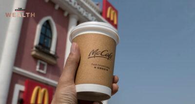 McDonald's ท้าชิง Starbucks สังเวียนร้านกาแฟในจีน ทุ่ม 1.2 หมื่นล้าน ขยาย McCafe ให้ครบ 4,000 สาขา ใน 3 ปี