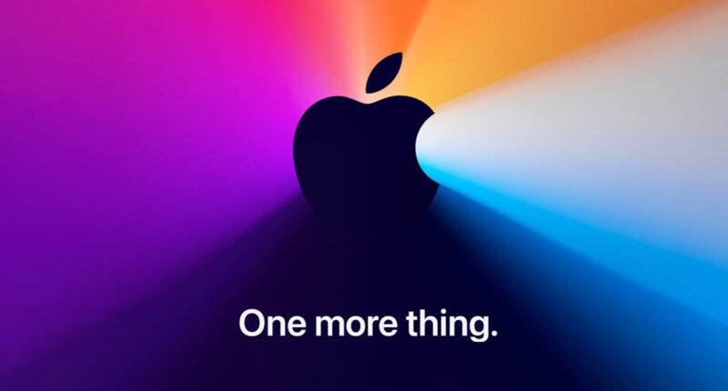 'One more thing' Apple เซอร์ไพรส์ส่งท้ายปี จัด Special Event ออนไลน์ 10 พ.ย. นี้ ลืออาจเปิดตัว Mac รุ่นใหม่