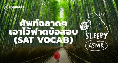 คำนี้ดี SLEEPY EP.30 ASMR | ศัพท์ฉลาดๆ เอาไว้ฟาดข้อสอบ | SAT VOCAB (Bamboo V. )