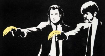 ภาพพิมพ์ Pulp Fiction ของ Banksy ถูกประมูลไปในราคา 5 ล้านบาท