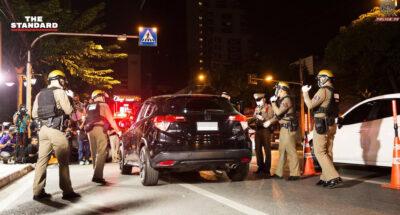 ตำรวจสาธิตตั้งด่านตรวจแอลกอฮอล์ เน้นโปร่งใสตามหลักสากล ประชาชนตรวจสอบได้