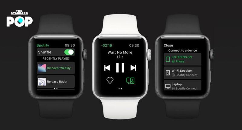 Spotify เตรียมออกฟีเจอร์ใหม่ที่ช่วยให้ผู้ใช้ Apple Watch สตรีมเพลงได้โดยไม่ต้องผ่าน iPhone