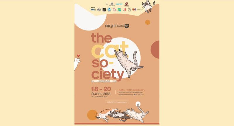 ทาสแมวห้ามพลาด กับเทศกาล The Cat Society 'รวมพลคนหลงแมว' 18-20 ธันวาคมนี้