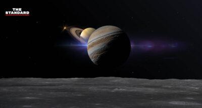 สดร. ชวนชมปรากฏการณ์ 'ดาวพฤหัสบดีเคียงดาวเสาร์' ใกล้ที่สุดในรอบ 397 ปี ในคืนวันที่ 20-23 ธ.ค. นี้