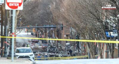 เกิดเหตุรถแวนตั้งแคมป์ระเบิดในเมืองแนชวิลล์ช่วงเช้าวันคริสต์มาส คาดจงใจสร้างความโกลาหล