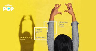 เพราะเราต้องการความหวังและความแข็งแรง Pantone เลือกเหลือง-เทา 17-5104 Ultimate Gray และ Illuminating 13-0647 ให้เป็นสีแห่งปี 2021