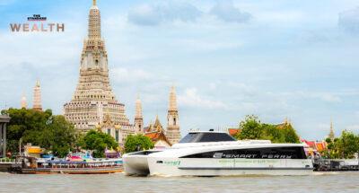 EA เปิดตัว 'เรือโดยสารพลังงานไฟฟ้า' ให้บริการเส้นแม่น้ำเจ้าพระยา ชูลดใช้น้ำมัน 4.73 ล้านลิตรต่อปี