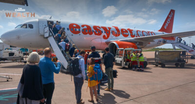 easyJet สายการบินสัญชาติอังกฤษ เตรียมเก็บค่าสัมภาระเหนือศีรษะในห้องโดยสาร เริ่ม ก.พ. ปีหน้า