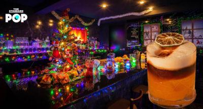 'HG80' บาร์เล็กในบาร์ใหญ่ย่านช่องนนทรี เปิดตัวเอาใจคนรักเทศกาลกับธีม 'Winter Wonderland'