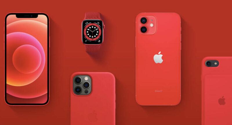 สีแดงสร้างความแตกต่าง Apple เปิดตัวผลิตภัณฑ์ Product (RED) สมทบทุนสู้วิกฤตโควิด-19
